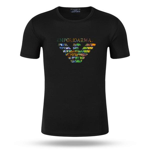 2019 Camisetas de diseño de verano para hombres Camisa de marca de lujo con letras Tops de manga corta Camiseta para hombre Fends isla de piedra multimillonario 5XL