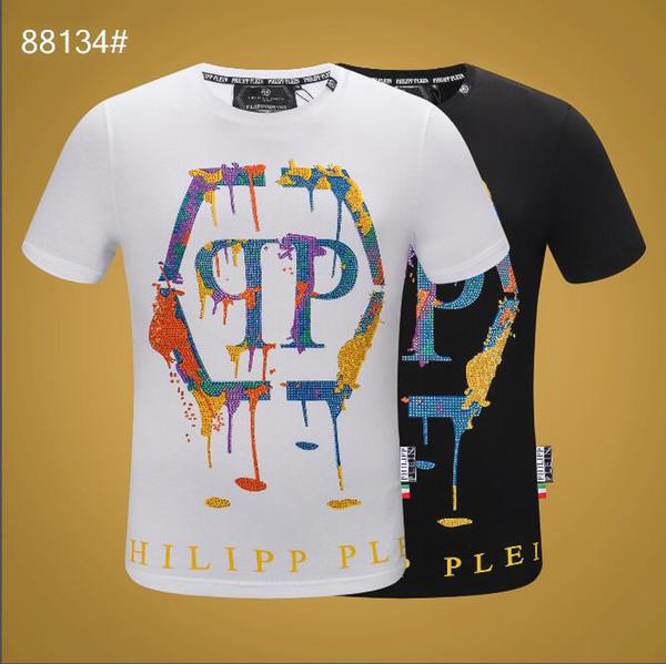 Le nouveau t-shirt pour homme 2019 d'été, le t-shirt à manches courtes pour femme de la marque de mode tendance. T-shirt lettre homme imprimé GG1932