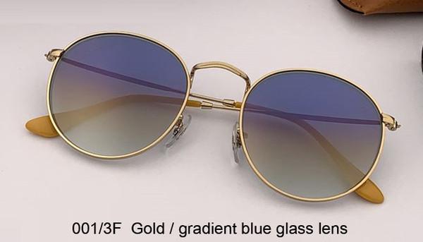 001/3F gold/gradient blue lens