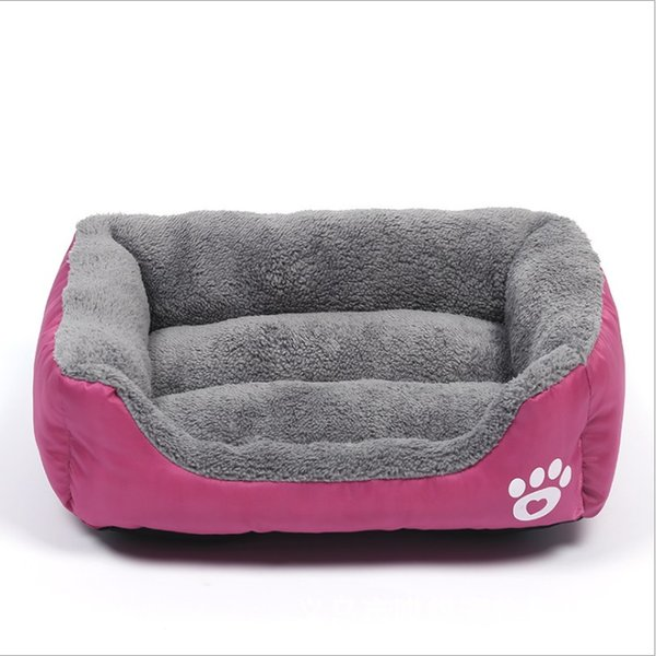 Pleasing 2019 Size Deluxe Sofa Dog Cat Bed Plush Super Soft Pet Round Bed Kennel Cat Pet Sleeping Pad Big Dog Bed Sofa For Cat Warm Kennel From Wangwu0415 Squirreltailoven Fun Painted Chair Ideas Images Squirreltailovenorg