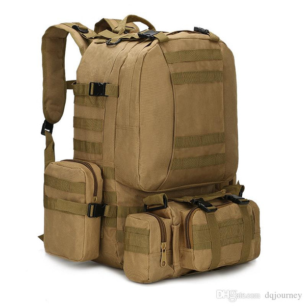Molle Exército Backpack Army SWAT Campo Survival Camo Travel Bag Multifuncionais dois ombro Grande Capacidade ACU Backpack