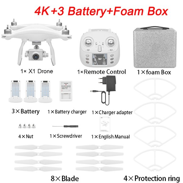 4K 3B Foam Box