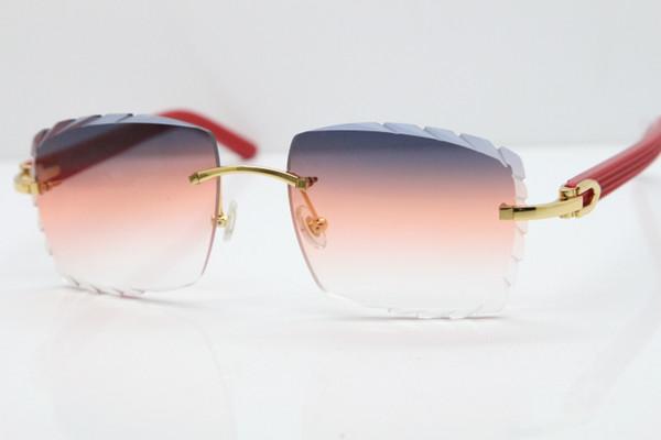 Gold Smalt Orange Lens