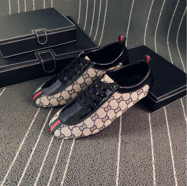 2018 Nuevo estilo Hombres Mocasines Diseñador de lujo Resbalón en los zapatos de los holgazanes para hombre Marca italiana Mocasines de vestir Hombres Mocasines zapatos