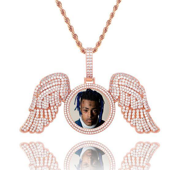 Rose Diamond Wings+Rope Chain