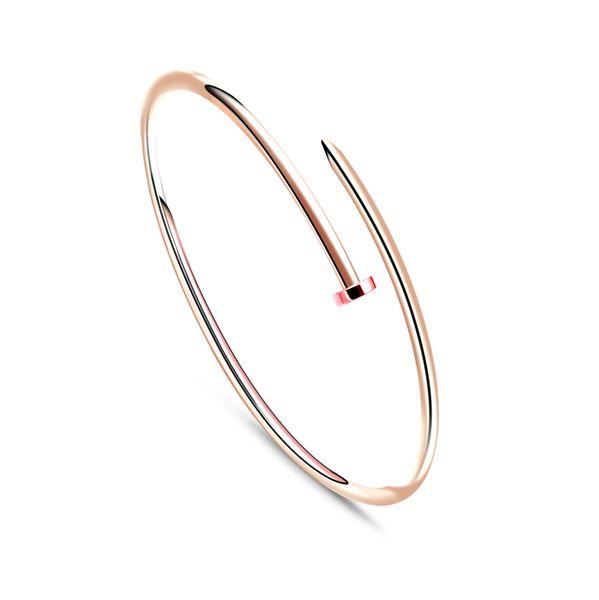 schmuck liebe armband feine version des biegsamen spike-förmigen armbandes geschenk armband für frauen armbänder vergoldet 18 karat