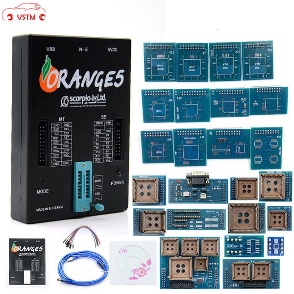 VSTM OEM Orange5 Professional Programmer Tool Programming Device With Full Packet Hardware + Enhanced Function Software orange 5