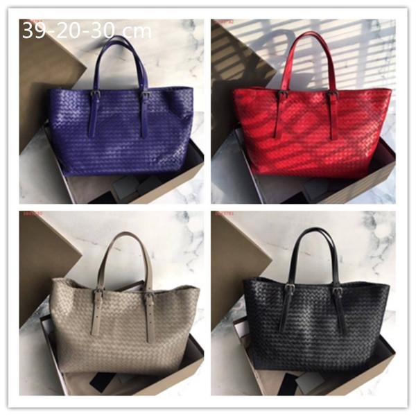 Original edition custom large capacity luxury leather bag Imported cowhide plaid design women's fashion atmosphere handbag