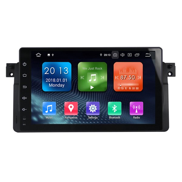 Zhuohan 9 Inch HD Android Car DVD Player for BMW 3 Series/E46 with Bluetooth GPS (AD-L9003)