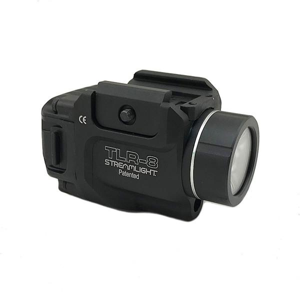 Tattica TLR Gun Light TLR-8 Streamlight LED a basso profilo con torcia di caccia con pistole Laser Red Railed