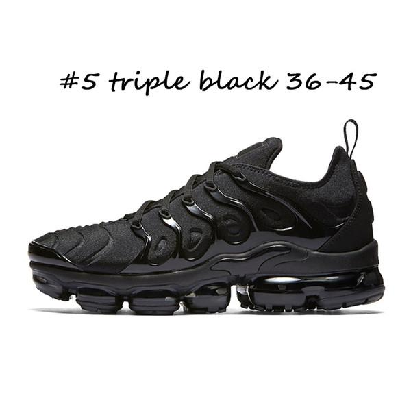 #5 triple black 36-45