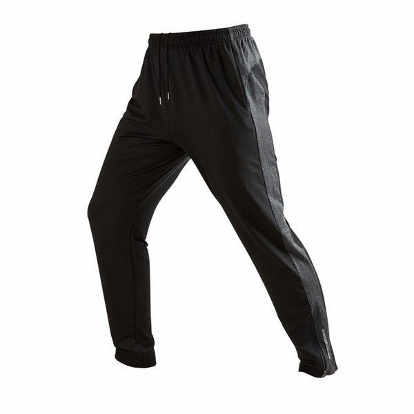 High Quality Men's Slim Tapered Athletic Durable Air Dry Sports Workout Running Drwastring Pants