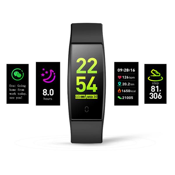 2019 Smart Watch Women Wallpaper Farbdisplay ändern Herzfrequenz-Überwachung HR Blutdruck Female Period Monitor Smart Watch