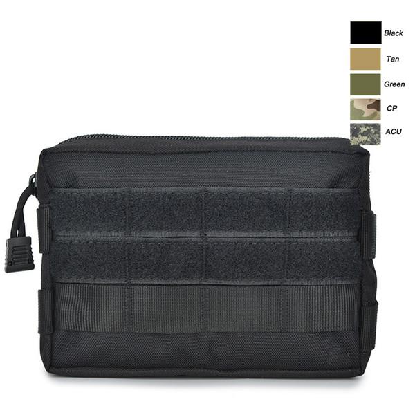 Sport Outdoor Gear Airsoft Molle Combat Assault Randonnée Sac Pack d'accessoires de camouflage tactique Kit Pouch NO11-709
