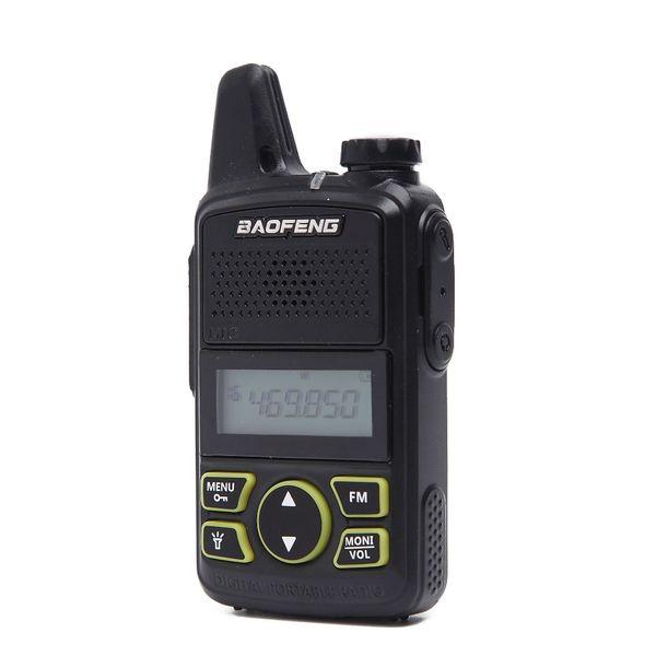 2 PCS BAOFENG BF-T1 MINI Kids BF T1 Walkie Talkie UHF 400-470mhz 20CH Portable CB Radio Handheld Transceiver+Programming Cable