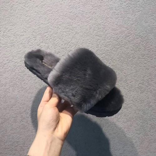 2019 mujeres de los hombres jóvenes peludo zapatillas Australia Fluff Yeah Slide Zapatos Designercasual botas de moda de lujo de diseño de las mujeres de las sandalias de piel Diapositivas