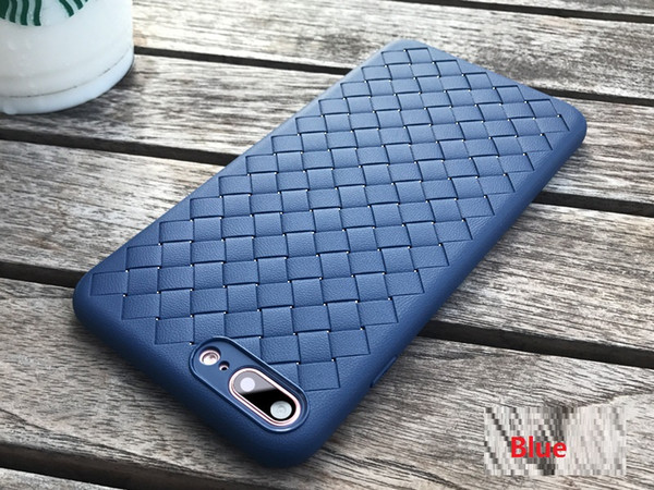 Cheap TPU Cell Phone Case Cover For Phone X XS Woven Pattern Full Protection Cases Phone Shell Breathable Heat Dissipation