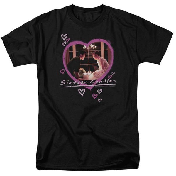 Summer Sleeves Cotton Short Sleeve Men Gift Sixteen Candles Crew Neck Shirts