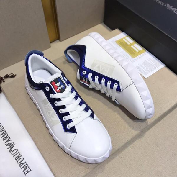 2019x ultime scarpe da uomo in pelle, scarpe sportive comode e traspiranti, scarpe basse tendenza moda, consegna scatola originale: 38-44 metri
