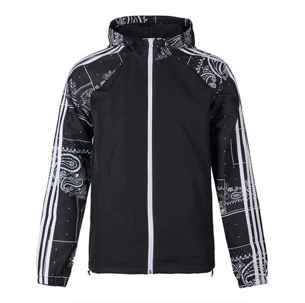 Para hombre de la marca Chaqueta rompevientos Cameoflage con capucha con cremallera Windrunner Abrigos Primavera Otoño Ejecución de trajes de ejercicio al aire libre S-2XL