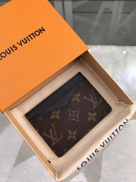 Bay ve bayan cüzdan kart sahipleri, Avrupa ve Amerikan tarzı, çeşitli renk seçenekleri, nakliye, hediye çantaları + kutular LQ050