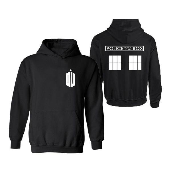 2017 New Brand Men Hoodies Fashion Doctor Who Sweatshirts Mens Sportwear Pullover Male Tracksuits Fleece Hoodie Sweatshirt