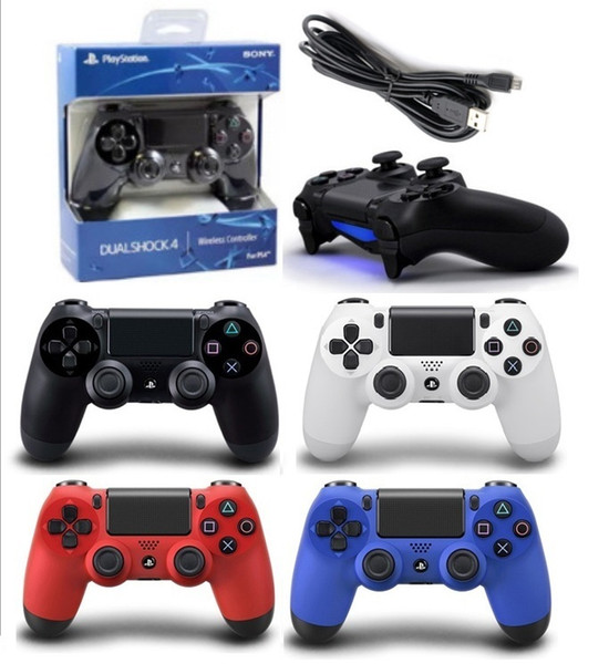 NEW PS4 Wireless Bluetooth Game Gamepad SHOCK4 4 Color Controller Playstation For Sony PS4 Controller with retail box DHL FREE