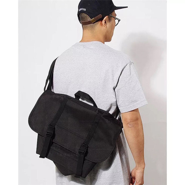 Borsa a tracolla di grandi dimensioni firmata borsa di tela di alta qualità borsa a tracolla di alta qualità per giovani uomini e donne 3 colori