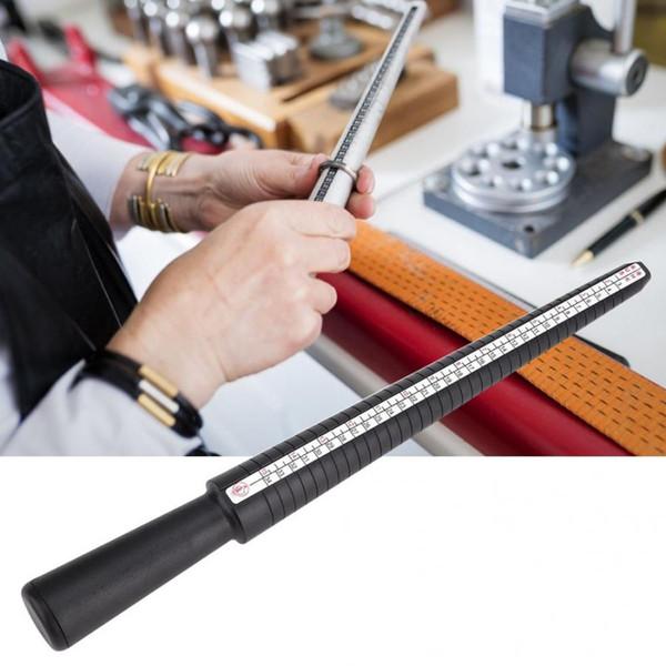 Anello di plastica Sizer Mandrino Stick Dito calibro Anello Gioielli Strumento di misurazione Regolazione Strumento di riparazione in plastica Creazione di gioielli