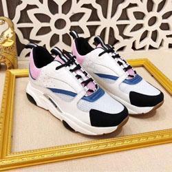Lüks Unisex Stil Yüksek Kalite Tasarımcı Ayakkabı Son Moda B22 sneakers Kadın erkek Rahat Ayakkabılar Boyutu 35-44 Marka NM189609