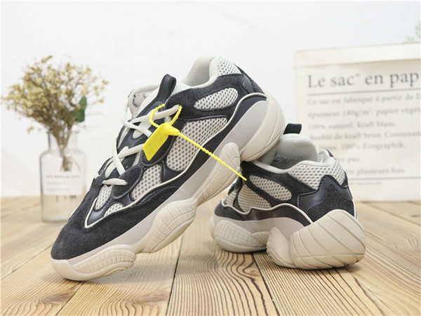 brand new 08ea8 7a862 New⠀Yeezy 500 Blush Desert Rat Kanye West 700 Wave Runner 350 Running Mens  Shoes Designer Shoes Athletic Sneakers Sneakers Online Deck Shoes From ...