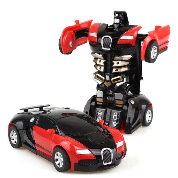 Cool Model Friction Deformation Robot Car Toy for Kids Plastic Deformation Kids Car Robot Toys Model Car Hyundai Toys Kids Toys