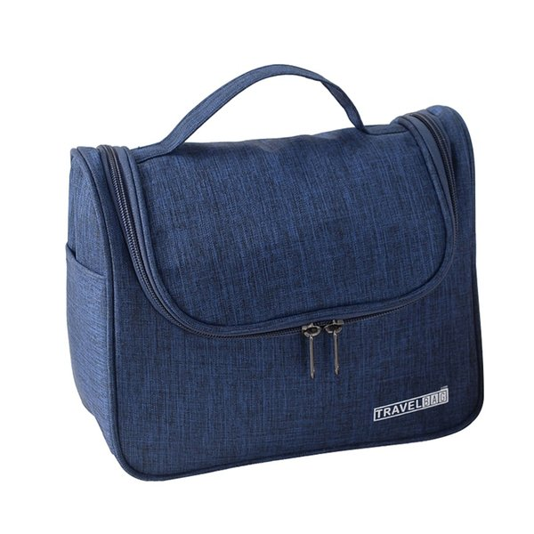 Casual Men Hanging Cosmetic Bag Travel Portable Beautician Vanity Necessary Brush Case Professional Makeup Wash Tote Accessories #214636