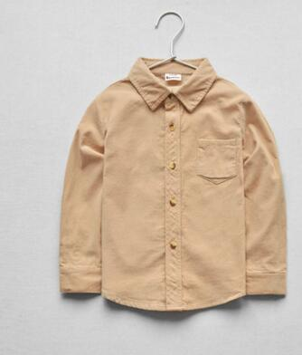 2019 Новая летняя мода детей Простой ретро стиль V-образным вырезом футболки Кардиг