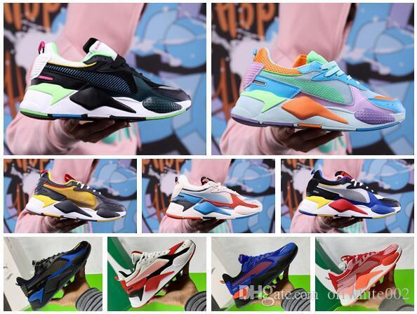 With Box Mens RS-X Toys Release Running Shoes for Men Sneakers Male Sneaker Womens Jogging Women Sports Female Trainers Boys Chaussures Girl
