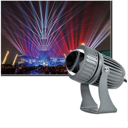 feixe estreito Led arruela da parede lâmpada de 10W RGB holofote paisagem iluminação exterior AC 85-265V IP65 holofotes impermeável luz Linear