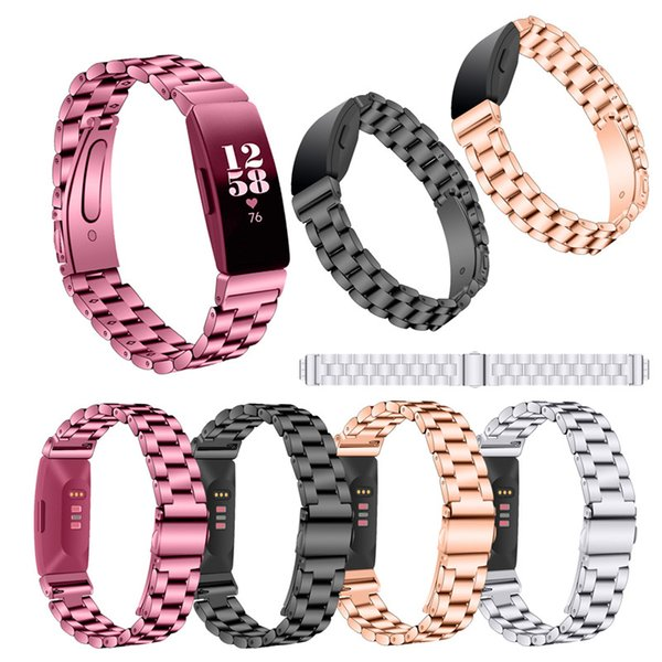 Watch Straps Stainless Steel For Fitbit Inspire Inspire HR Wristband Replacement For Fitbit Inspire Watches Band Bracelet Belt