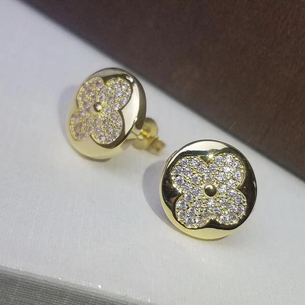 Venta caliente de acero titanium 316L 1.4 cm pendiente redondo del perno prisionero con rosa y gris y blanco ágata mujeres marca regalo joyería PS5670