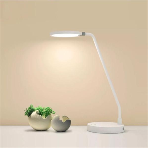 Desk Original Xiaomi youpin LED COOWOO Lamp Eye proteção Smart Lamp Table Luz ajustável 4000mAh Poder 2USB fonte de energia móvel 3000299Z