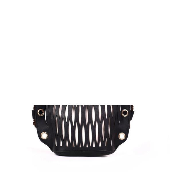 Fashion Wild Handbag Personality Simple Leisure Hollow Bucket Bag Atmosphere Small Fresh Shoulder Messenger Bag