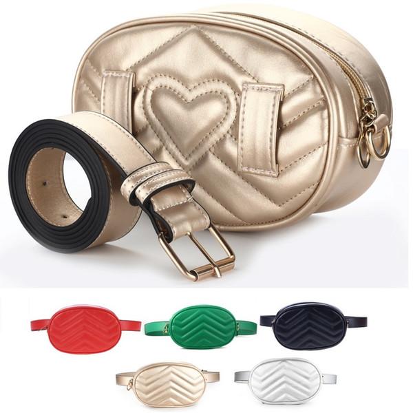 Großhandel solide Handtaschen Frauen Taschen Designer Gürteltasche Gürteltaschen Dame Gürtel Taschen Frauen Brust Handtasche