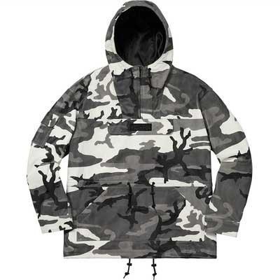 Designer Männer Frauen Trend Camouflage Hoodie klassischen Buchstaben Pullover Suprême Black Fashion Street Hip Hop Sweatshirt Leder Half Zip Jacke