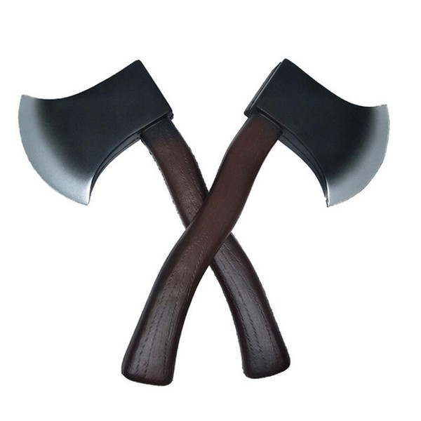 2019 30cm Fire Ax Cosplay Outdoor Survival Game Hunting Camping Halloween Party Supplies Pu Props Children S Foam Toys Tactical Ax Playing From