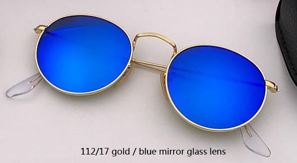 Espelho de ouro / azul 112/17