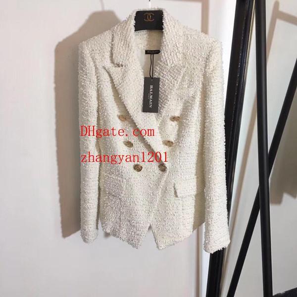 Ropa de mujer Nuevo Otoño Abrigo de Lana de Invierno Cachemira Para Mujer Abrigos Abrigos Ropa de Abrigo de Las Señoras Delgadas Abrigo Moda Chaquetas de marca de moda para mujer