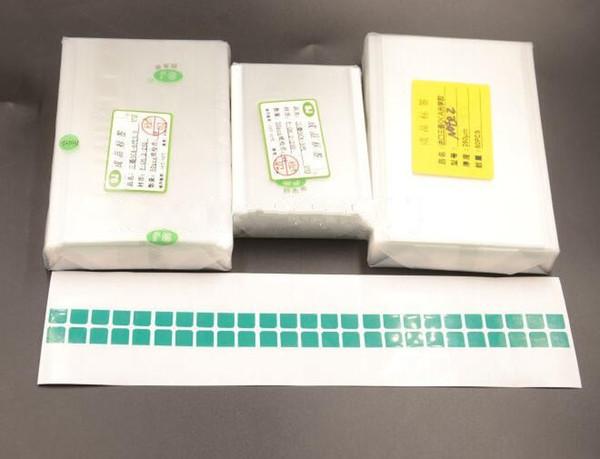 50pcs / Lot 250um OCA Optique Adhésif Clair pour iPhone X 8 7 plus 6 6 plus 5 OCA Glue Touch Verre Film de Lentille