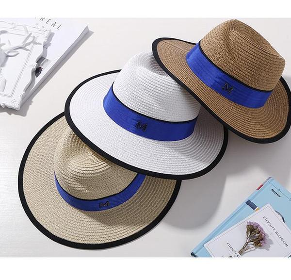 Hat Female Summer Korean Sun Hat Beach Hat Sun Shade Straw Hats