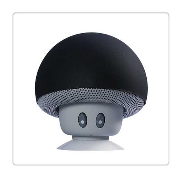 Bluetooth Wireless Speaker Bluetooth MP3 Player with Mic Portable Stereo Blutooth Mini Cute Mushroom For Cell Phone