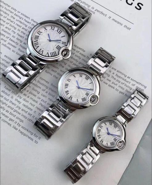 2019 Top 35mm 28mm femmes Montres 42mm Hommes Chronographe Montre à Quartz Sport Man Date Montres de luxe de haute qualité design Belle horloge