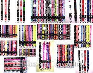 best selling wholesale new popular! love sports n k Lanyard pink Keychain Key Chain ID Badge cell phone holder Neck Strap 10pcs